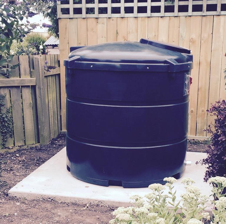 Oil Tank Installation